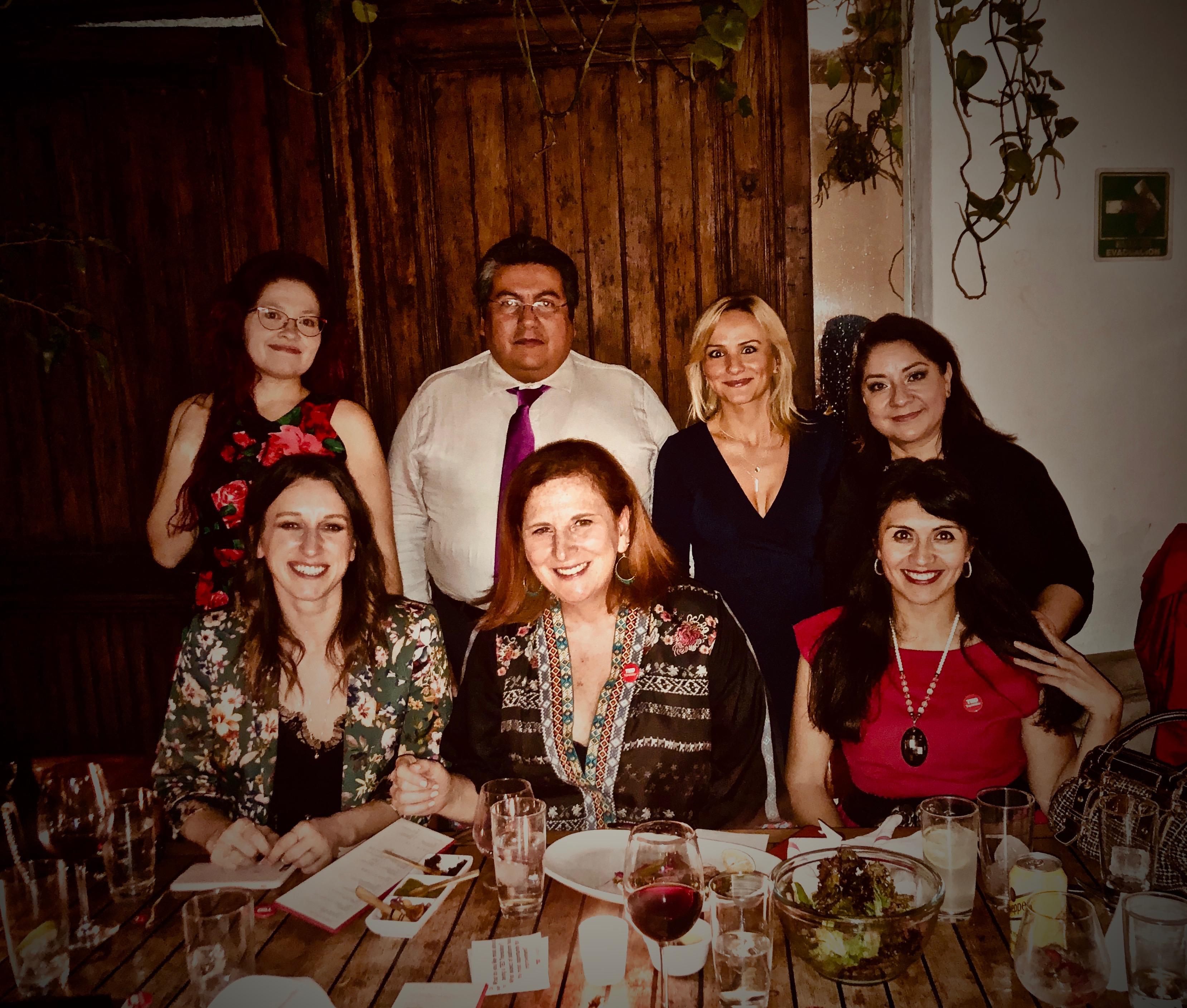 TED Translators dinner Mexico City